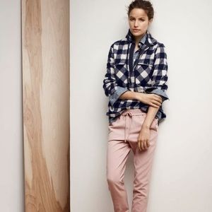 J. CREW BUFFALO CHECK WOOL SHIRT JACKET